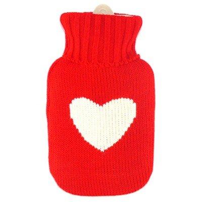 bolsa de agua caliente de corazon