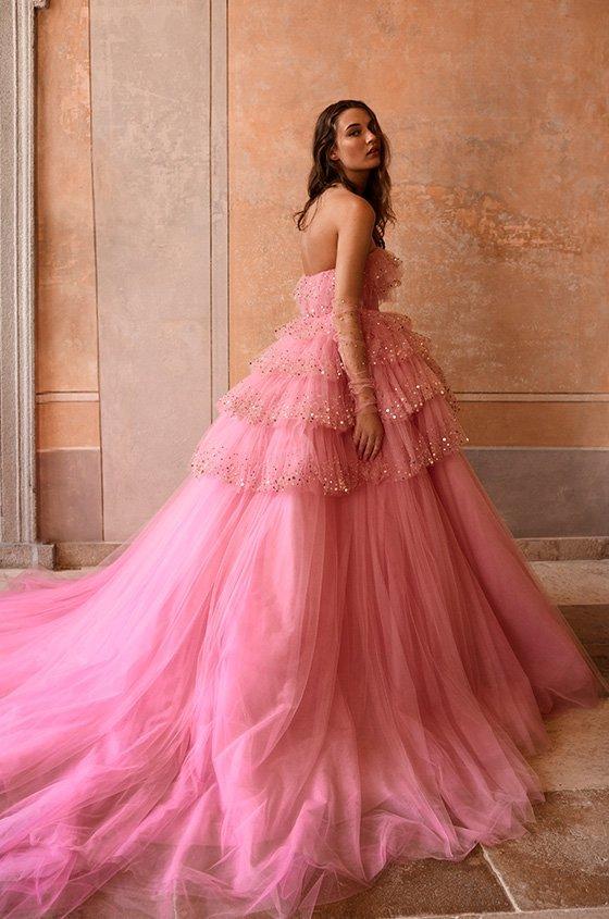 vestidos de novia a color