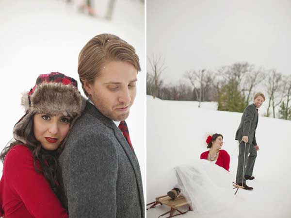 boda en invierno