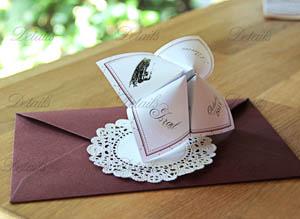 Details invitaciones de boda
