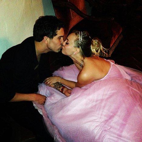 Kaley Cuoco and Ryan Sweeting