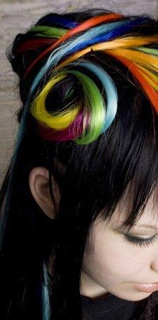 peinados interesantes