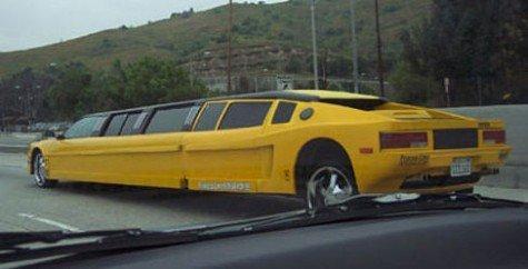 limousinas de lujo para bodas