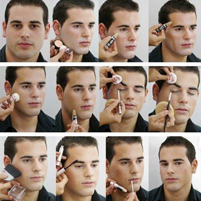 maquillaje homres