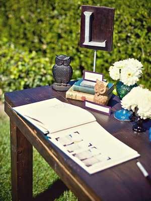 mesa de firmas