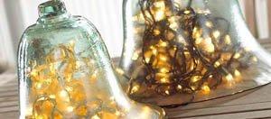 decoracion navideña centros de mesa