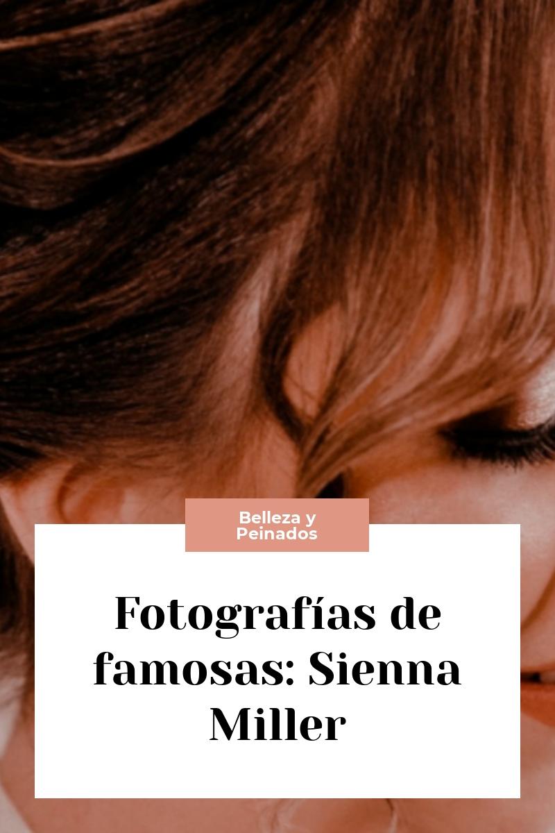 Fotografías de famosas: Sienna Miller