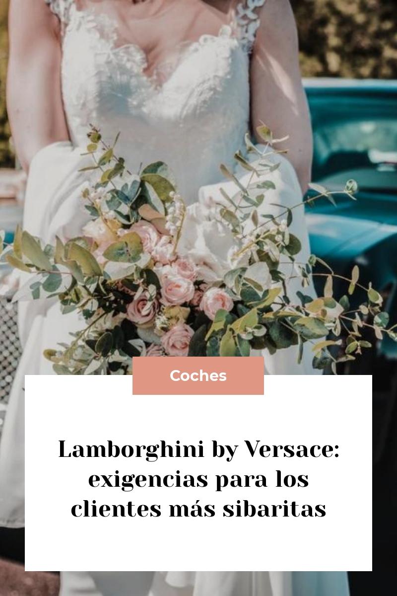 Lamborghini by Versace: exigencias para los clientes más sibaritas
