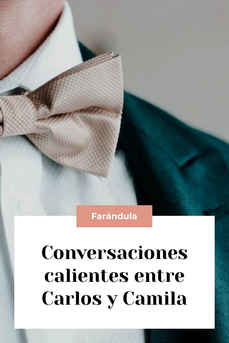 Conversaciones calientes entre Carlos y Camila