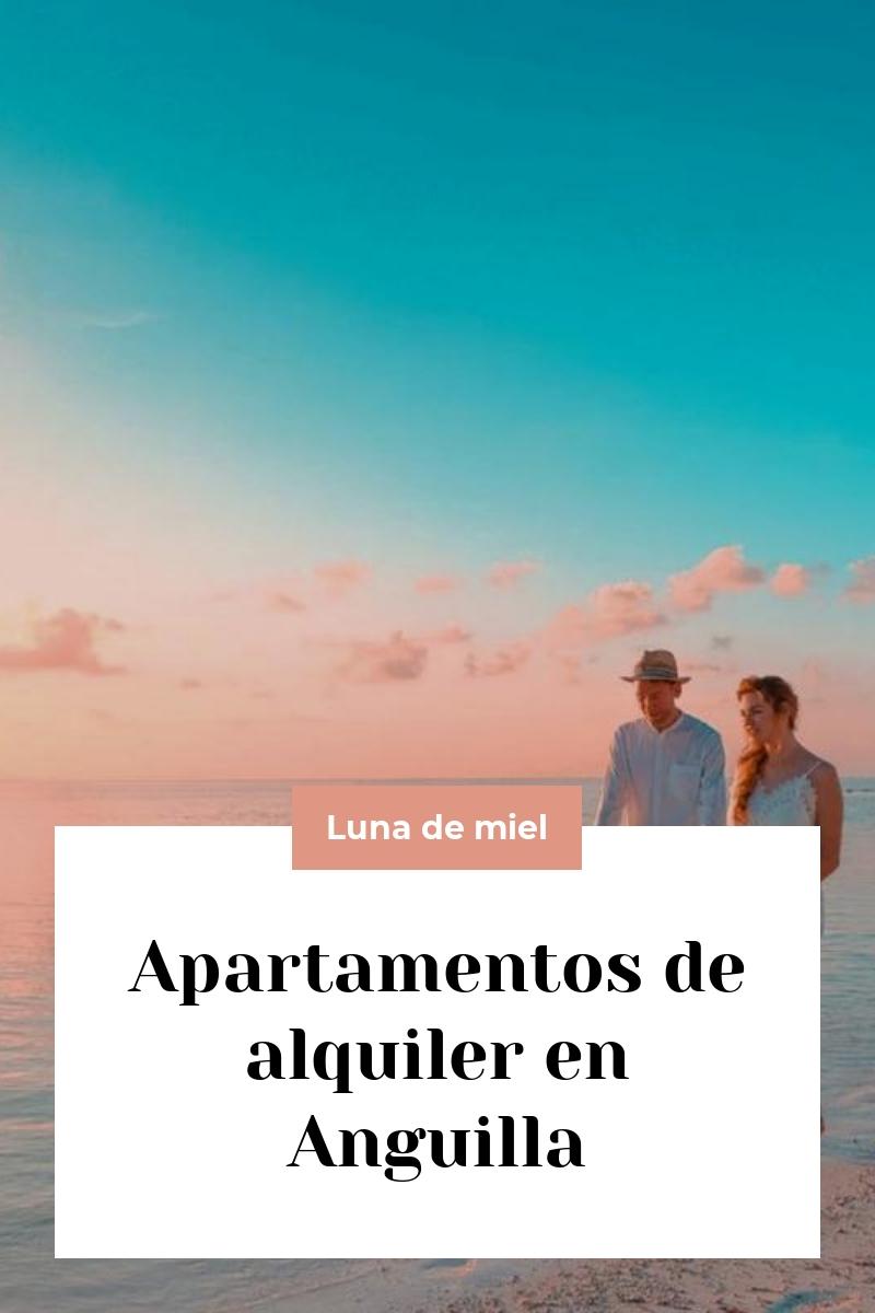 Apartamentos de alquiler en Anguilla