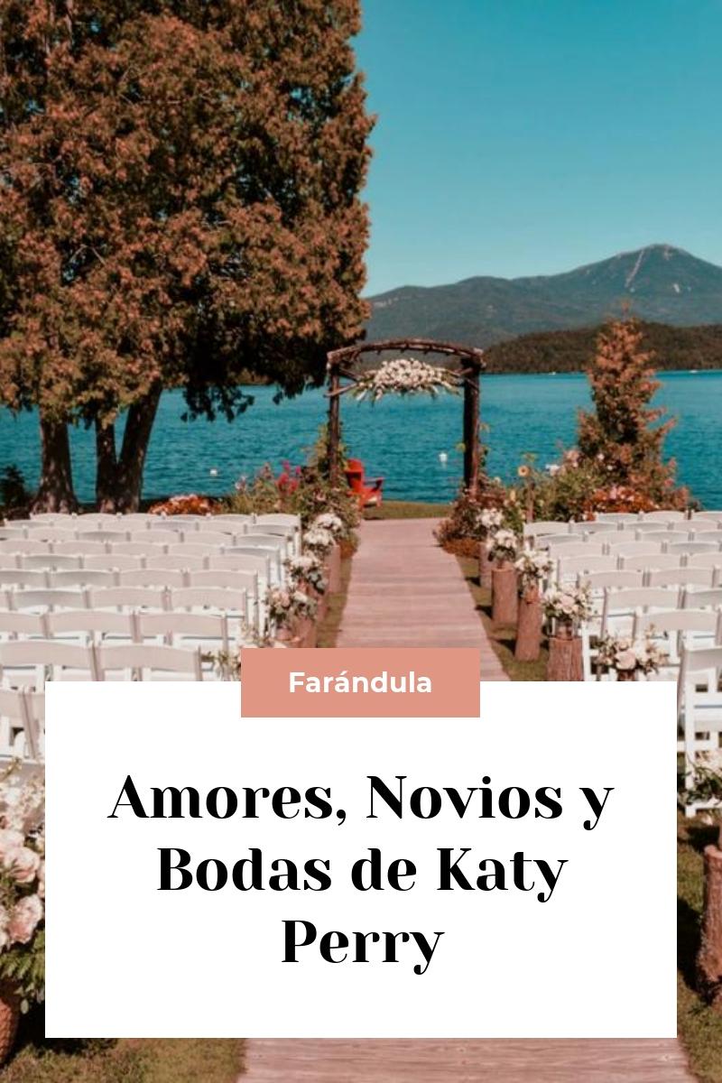 Amores, Novios y Bodas de Katy Perry