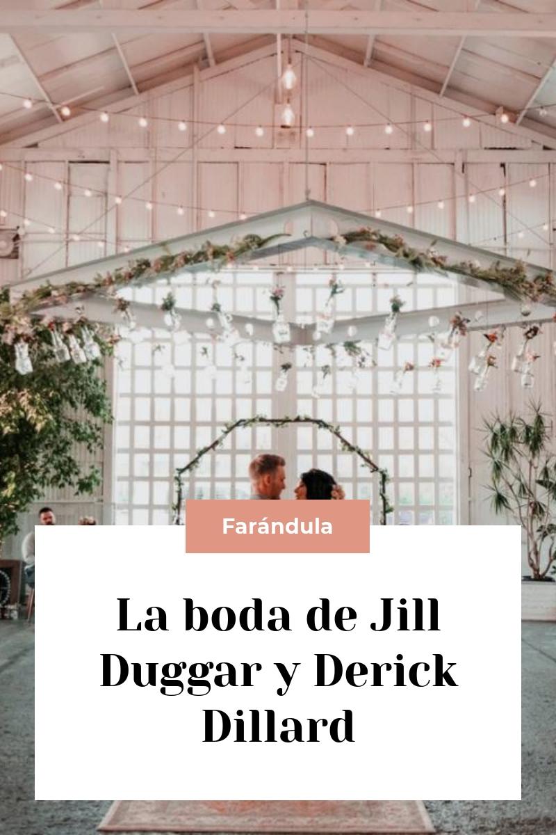 La boda de Jill Duggar y Derick Dillard
