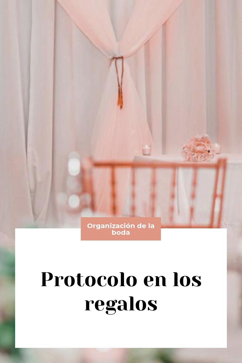 Protocolo en los regalos