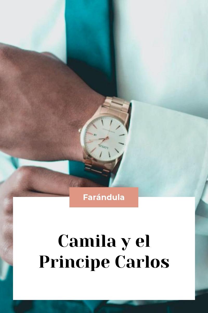Camila y el Principe Carlos