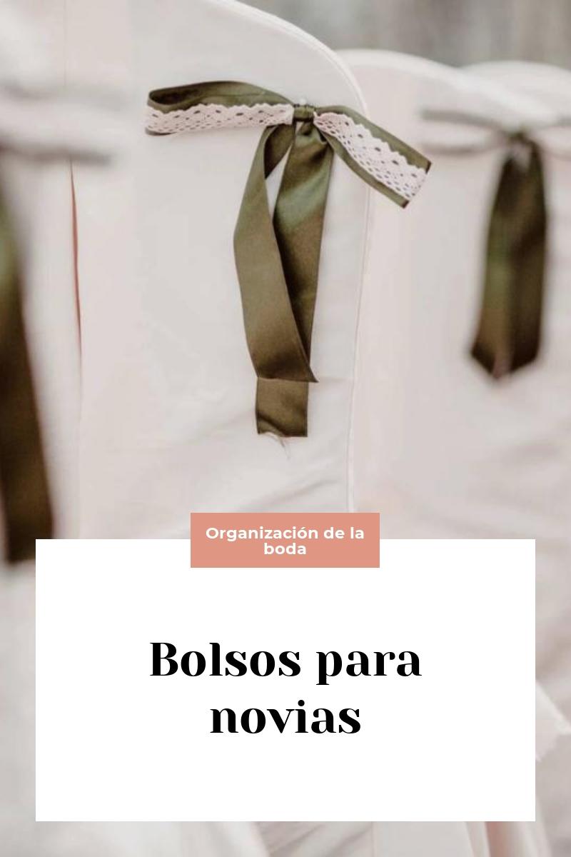 Bolsos para novias