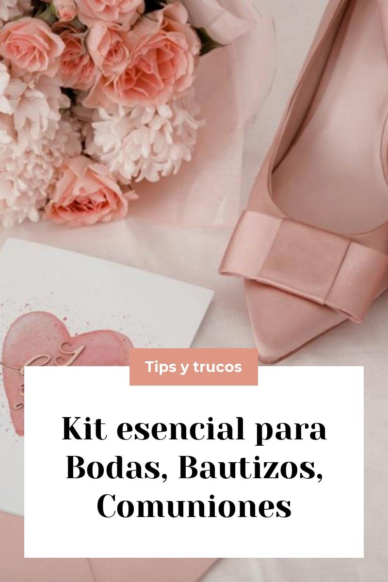 Kit esencial para Bodas, Bautizos, Comuniones