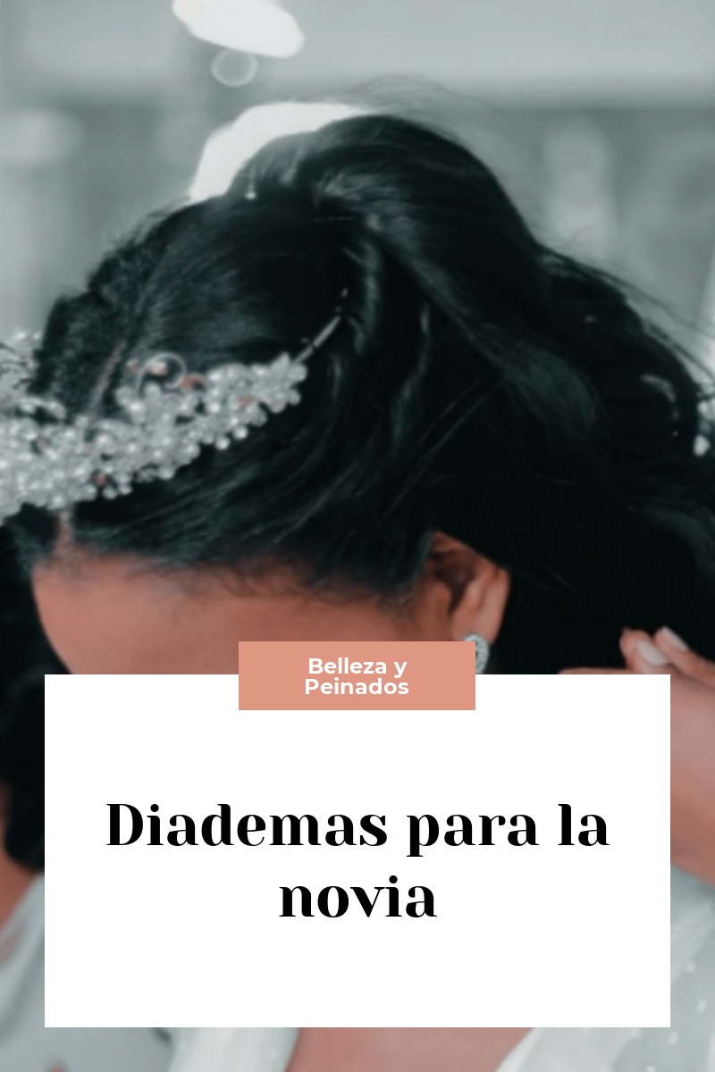 Diademas para la novia