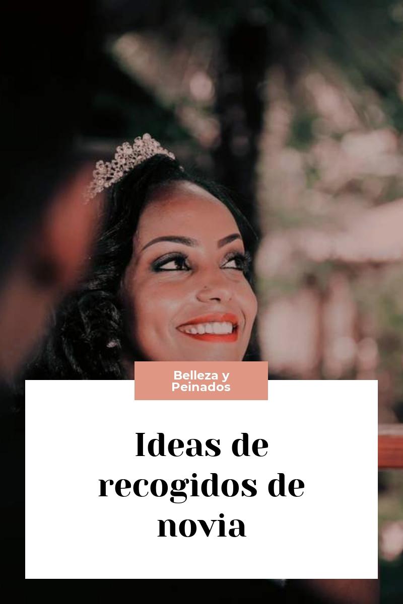 Ideas de recogidos de novia
