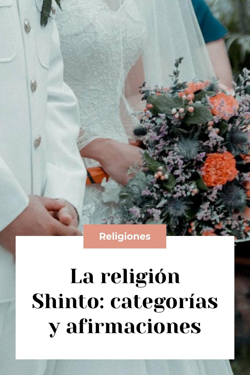 La religión Shinto: categorías y afirmaciones