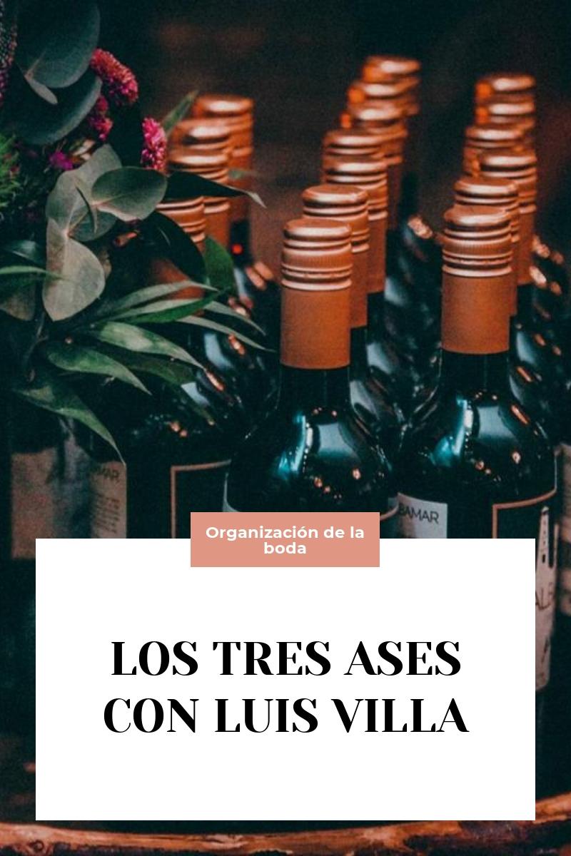 LOS TRES ASES CON LUIS VILLA