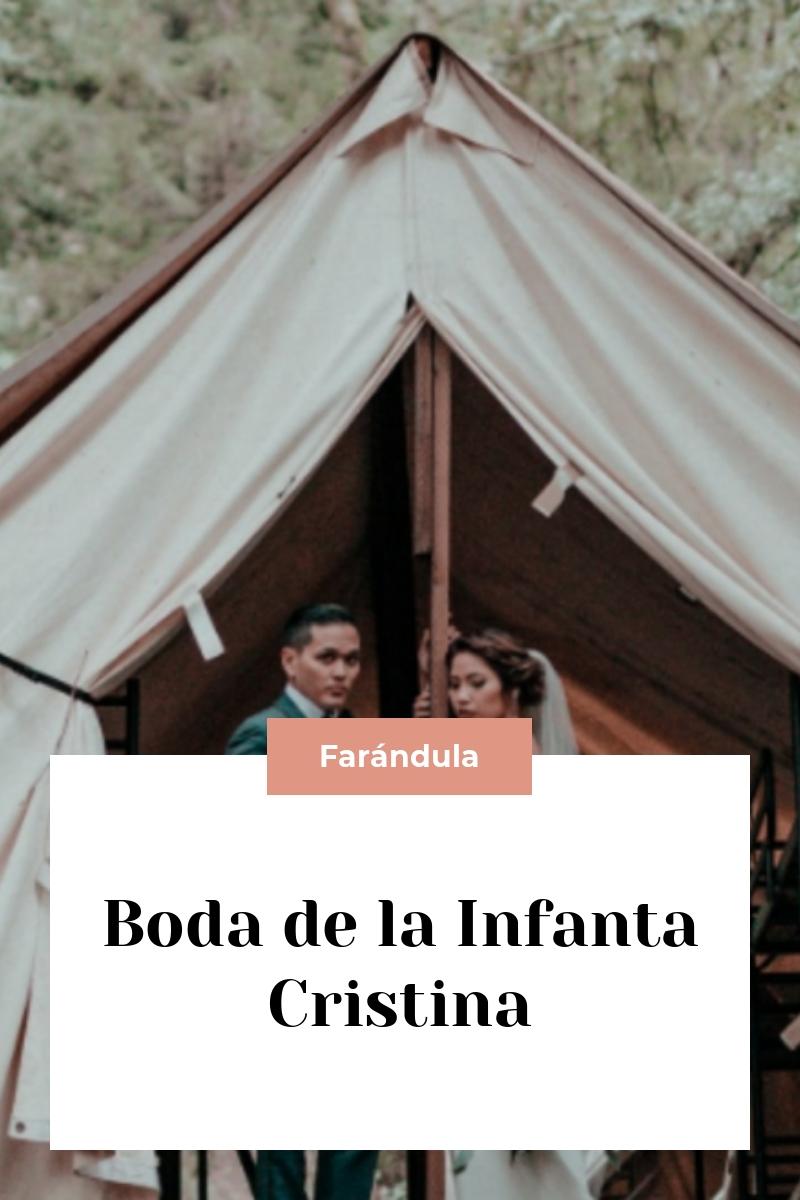 Boda de la Infanta Cristina