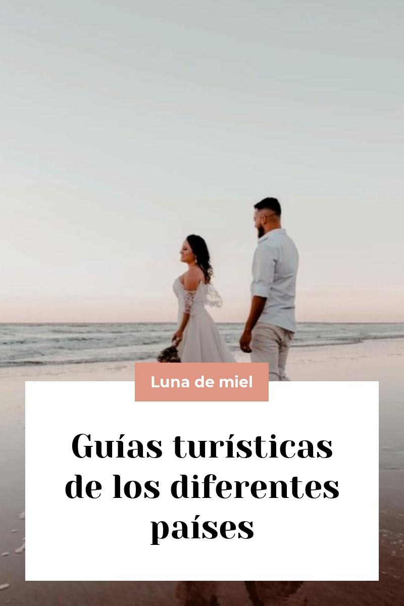 Guías turísticas de los diferentes países