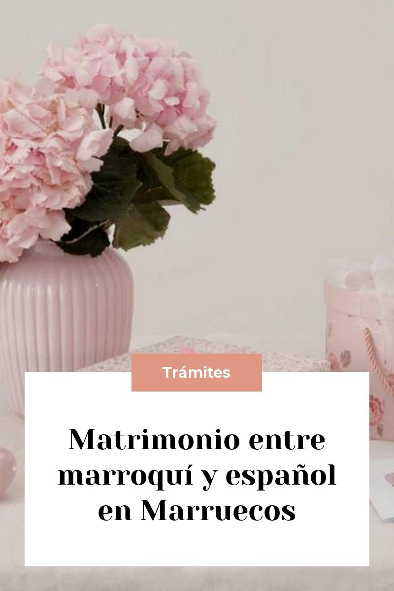 Matrimonio entre marroquí y español en Marruecos