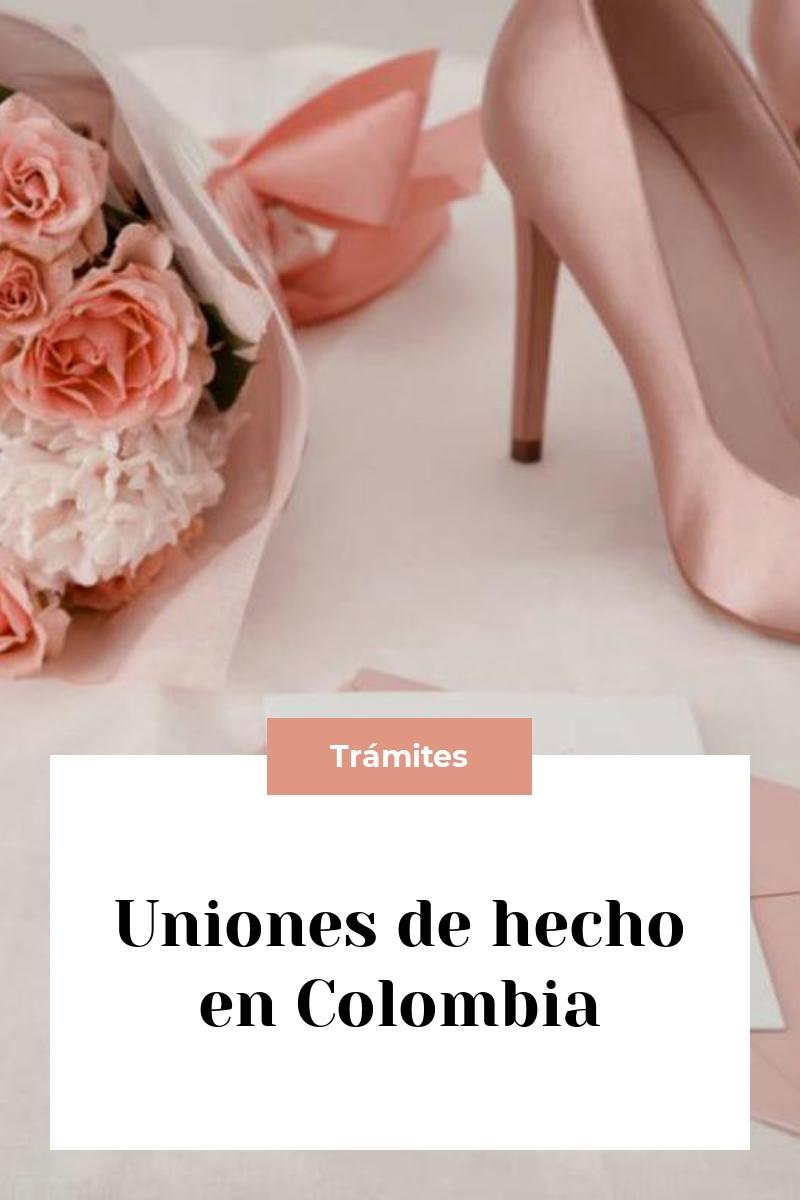 Uniones de hecho en Colombia