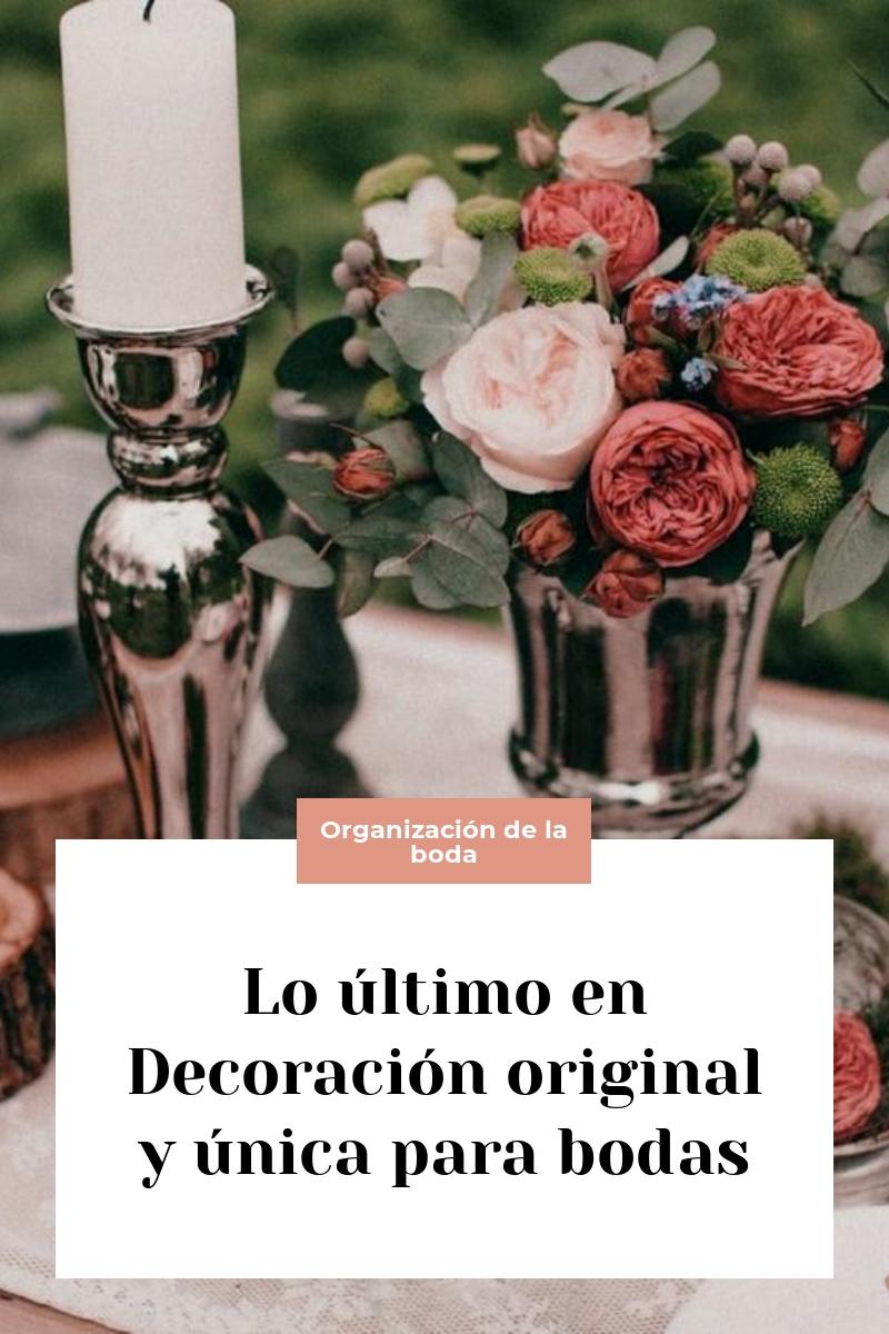 Lo último en Decoración original y única para bodas