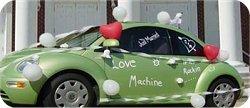 como de corar mi coche de bodas