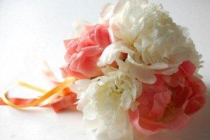 mywedding.com bouquet de peonias