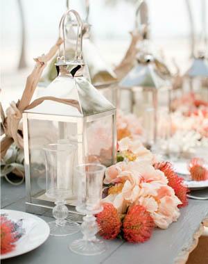 stylemepretty.com mesa inspiración coral