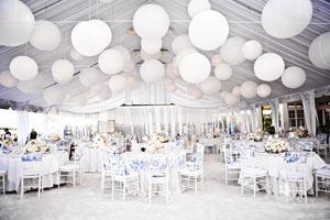 boda en tonos blancos