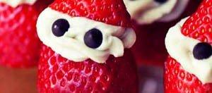 fresas navideñas