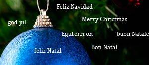 feliz navidad todos los idiomas