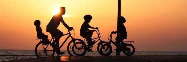 familia-en-bici