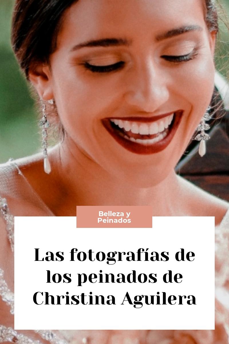 Las fotografías de los peinados de Christina Aguilera