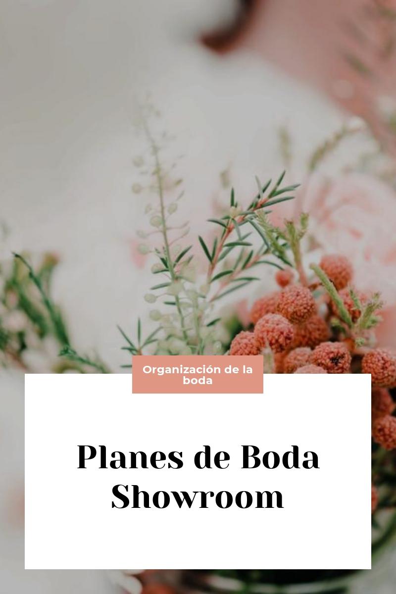 Planes de Boda Showroom