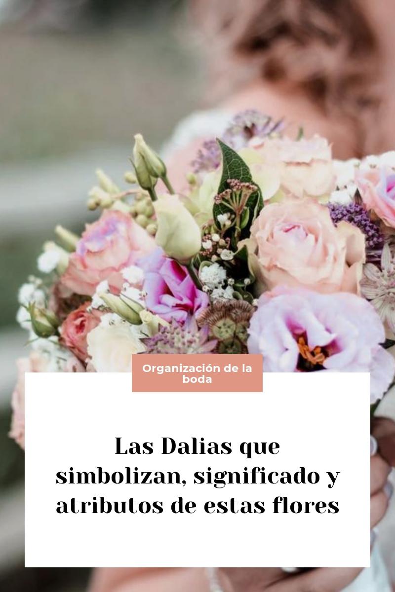 Las Dalias que simbolizan, significado y atributos de estas flores