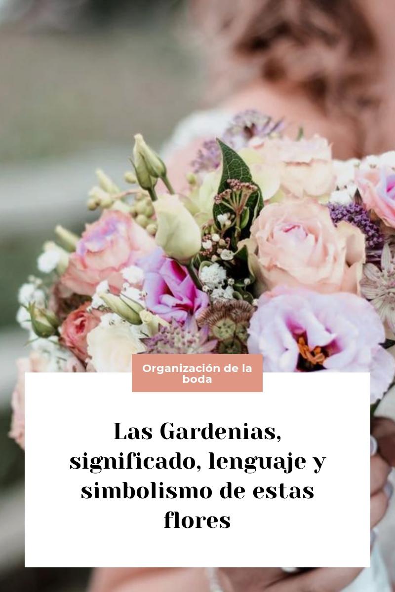 Las Gardenias, significado, lenguaje y simbolismo de estas flores