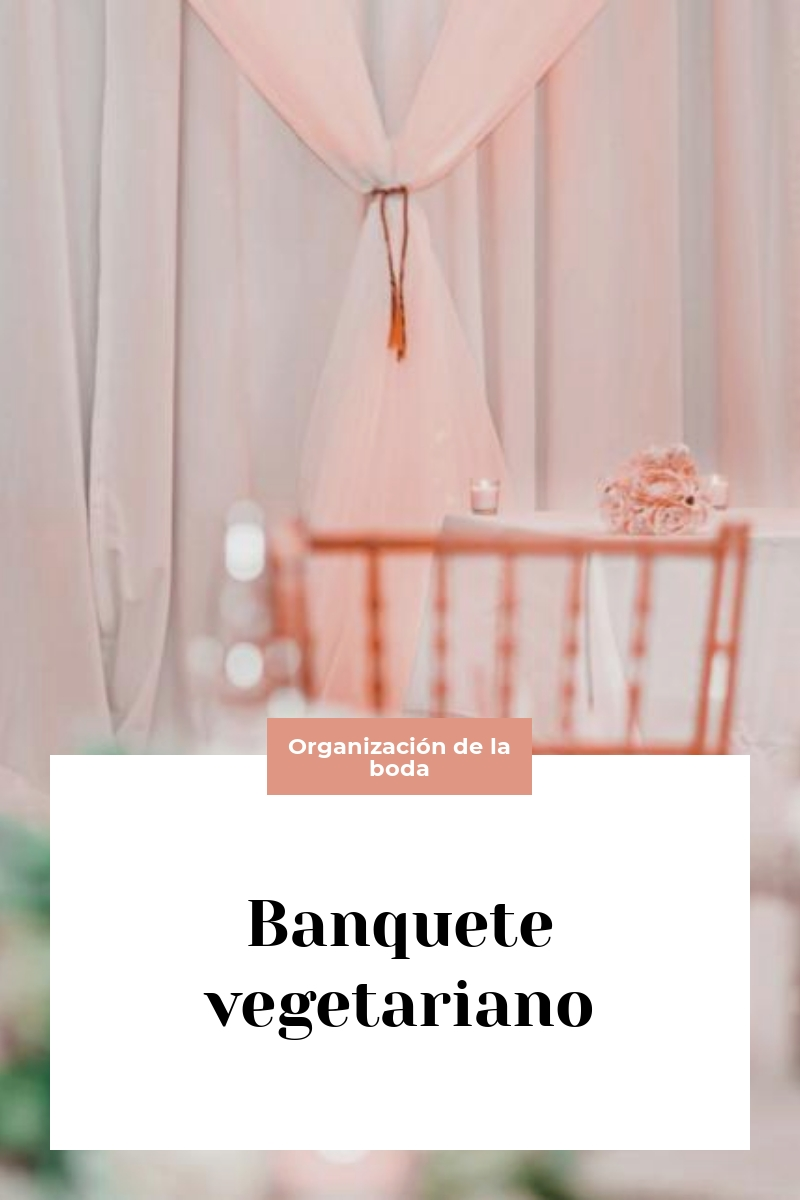 Banquete vegetariano